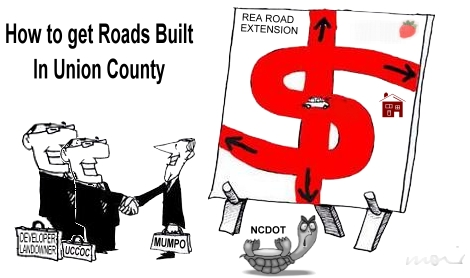 How Roads are built